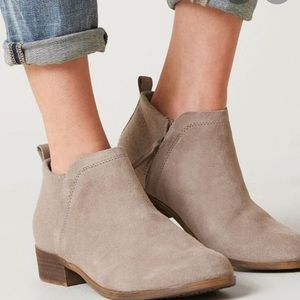 Toms Deia ankle boots -taupe